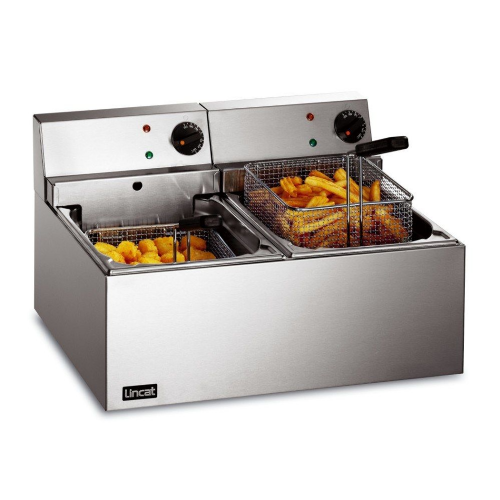 Lincat Lynx 400 LDF2 Electric Slimline Double Fryer